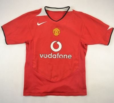 2004-06 MANCHESTER UNITED SHIRT M. BOYS