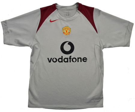 2004-06 MANCHESTER UNITED SHIRT S