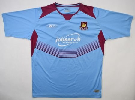 2004-06 WEST HAM UNITED SHIRT L
