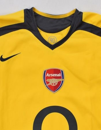 2005-06 ARSENAL LONDON LONGSLEEVE SHIRT M