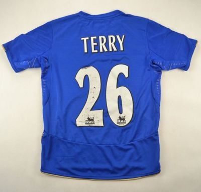 2005-06 CHELSEA LONDON *TERRY* SHIRT M. BOYS