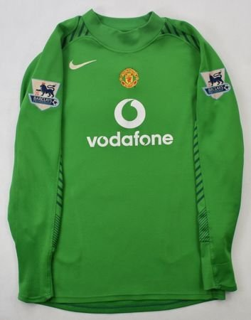 2005-06 MANCHESTER UNITED GK *SCHMEICHEL* SHIRT XL. BOYS