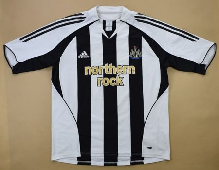 2005-06 NEWCASTLE UNITED *SHEARER* SHIRT L