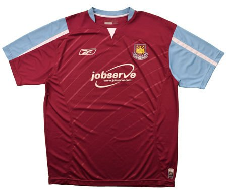 2005-07 WEST HAM UNITED SHIRT XXL