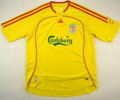 2006-07 LIVERPOOL SHIRT L. BOYS