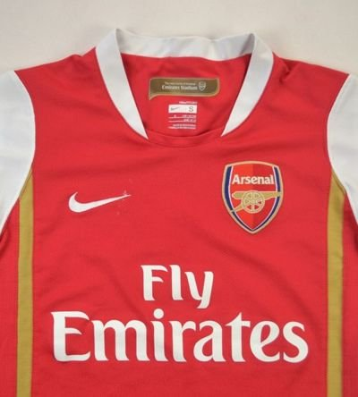 2006-08 ARSENAL LONDON SHIRT S. BOYS