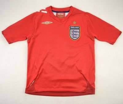 2006-08 ENGLAND *OWEN* SHIRT SIZE 6/7 YEARS