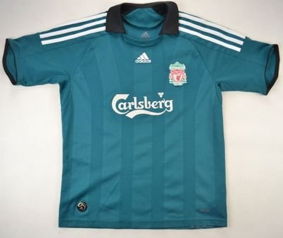 2006-08 LIVERPOOL SHIRT L. BOYS