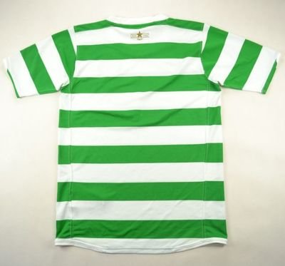 2007-08 CELTIC GLASGOW SHIRT XL. BOYS