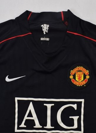 2007-08 MANCHESTER UNITED SHIRT L