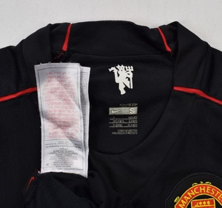 2007-08 MANCHESTER UNITED SHIRT S. BOYS