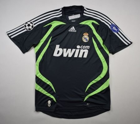 2007-08 REAL MADRID CL SHIRT M