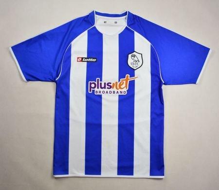 2007-08 SHEFFIELD WEDNESDAY SHIRT M