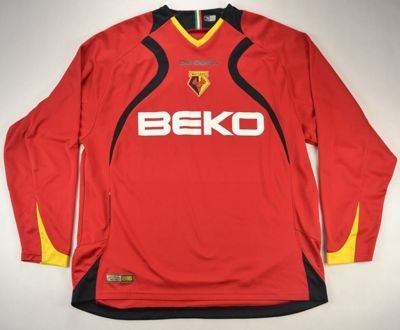 2007-08 WATFORD SHIRT XL