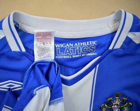 2007-08 WIGAN ATHLETIC SHIRT XL