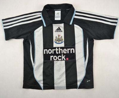 2007-09 NEWCASTLE UNITED SHIRT SIZE 6/7 YEARS