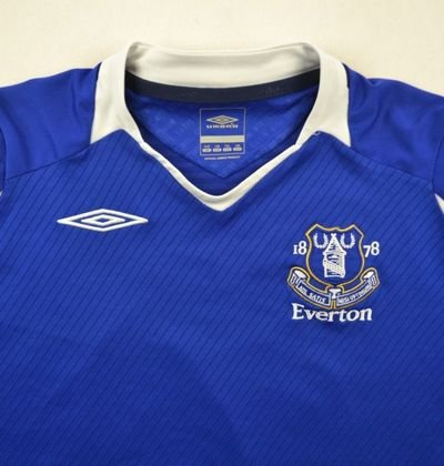 2008-09 EVERTON SHIRT L. BOYS