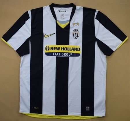 2008-09 JUVENTUS SHIRT XL