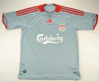 2008-09 LIVERPOOL SHIRT L. BOYS