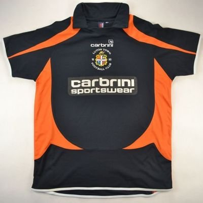2008-09 LUTON TOWN SHIRT XL. BOYS
