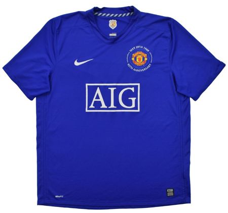 2008-09 MANCHESTER UNITED SHIRT L
