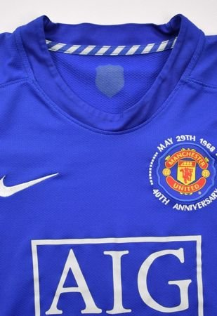2008-09 MANCHESTER UNITED SHIRT S. BOYS