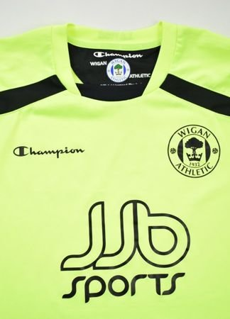 2008-09 WIGAN ATHLETIC SHIRT L