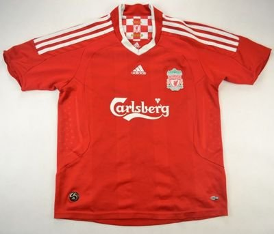 2008-10 LIVERPOOL *CARRAGHER*SHIRT L. BOYS