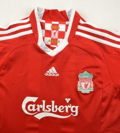 2008-10 LIVERPOOL SHIRT L. BOYS