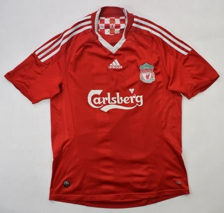 2008-10 LIVERPOOL SHIRT size M