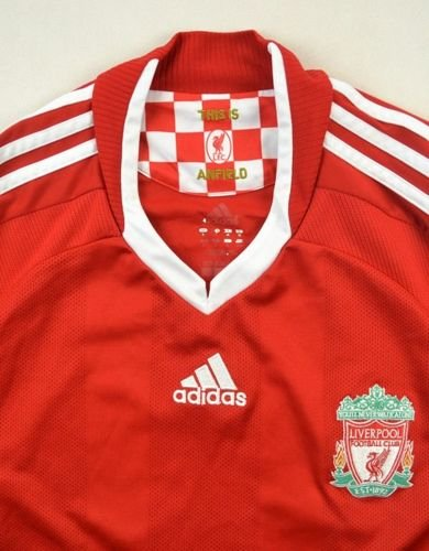 2008-10 LIVERPOOL *TORRES* SHIRT M