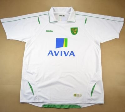 2008-10 NORWICH CITY SHIRT XL