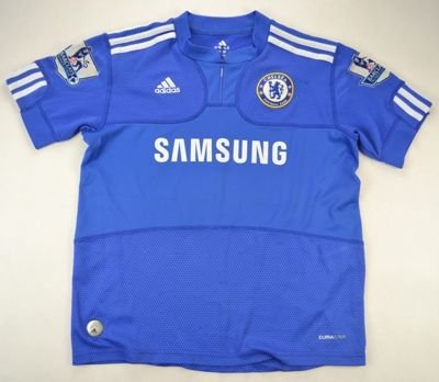 2009-10 CHELSEA LONDON *ANELKA* SHIRT L. BOYS