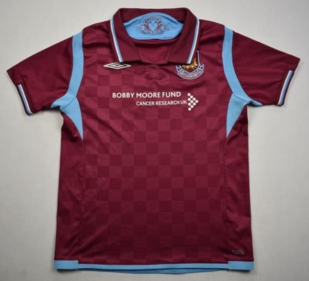2009-10 WEST HAM UNITED SHIRT M. BOYS