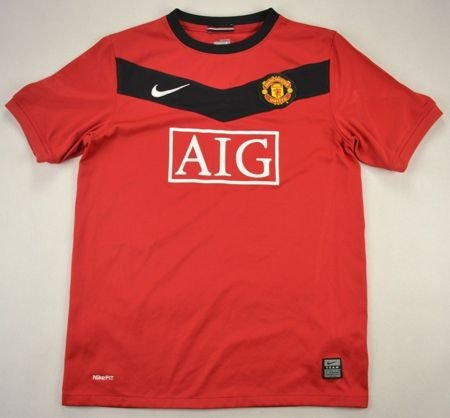 2009 MANCHESTER UNITED SHIRT L. BOYS