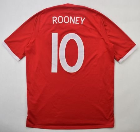 2010-11 ENGLAND *ROONEY* South Africa SHIRT M