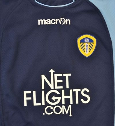 2010-11 LEEDS UNITED SHIRT L