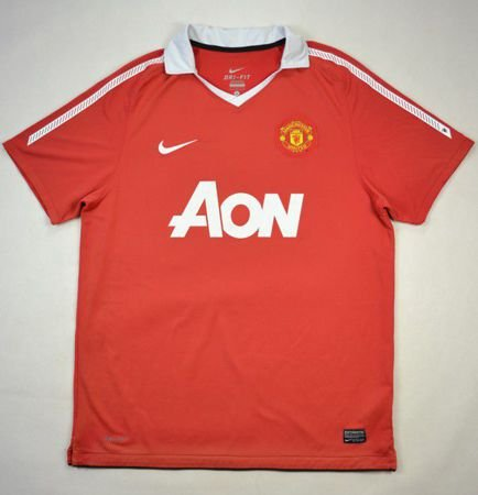 2010-11 MANCHESTER UNITED SHIRT L