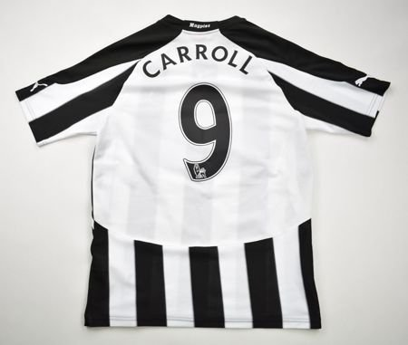 2010-11 NEWCASTLE UNITED *CARROLL* SHIRT S