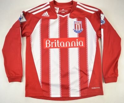 2010-11 STOKE CITY *SATCHWELL*SHIRT M. BOYS