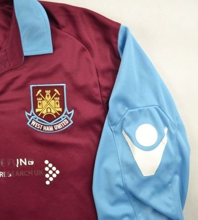 2010-11 WEST HAM UNITED SHIRT M
