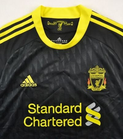 2010-12 LIVERPOOL *COLE* SHIRT XL