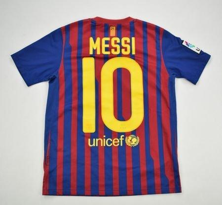 2011-12 FC BARCELONA MESSI SHIRT M.BOYS 140-152CM Football   Soccer ... 4eab257c3