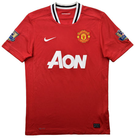 2011-12 MANCHESTER UNITED *CHICHARITO* SHIRT L. BOYS