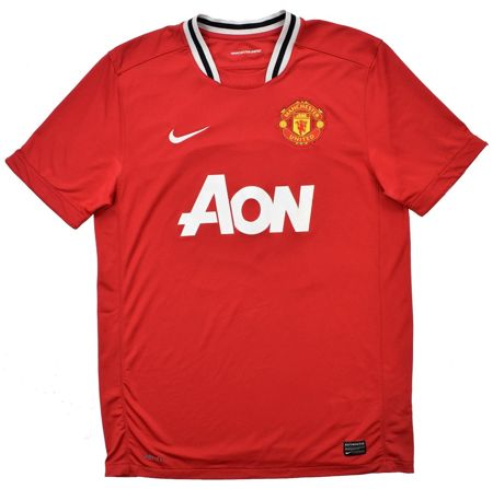 2011-12 MANCHESTER UNITED SHIRT M. BOYS 140-152 CM