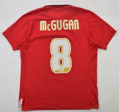 2011-12 NOTTHINGAM FOREST *McGUGAN* SHIRT S