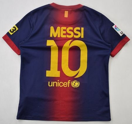 2012-13 FC BARCELONA *MESSI* SHIRT L. BOYS