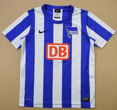 2012-13 HERTHA BERLIN SHIRT M. BOYS