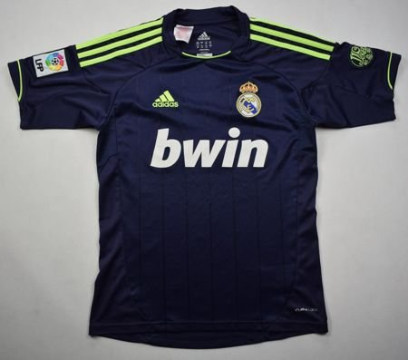 2012-13 REAL MADRID SHIRT L. BOYS 164 CM