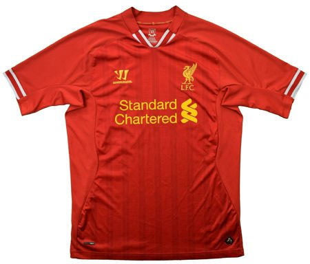 2013-14 LIVERPOOL SHIRT XL
